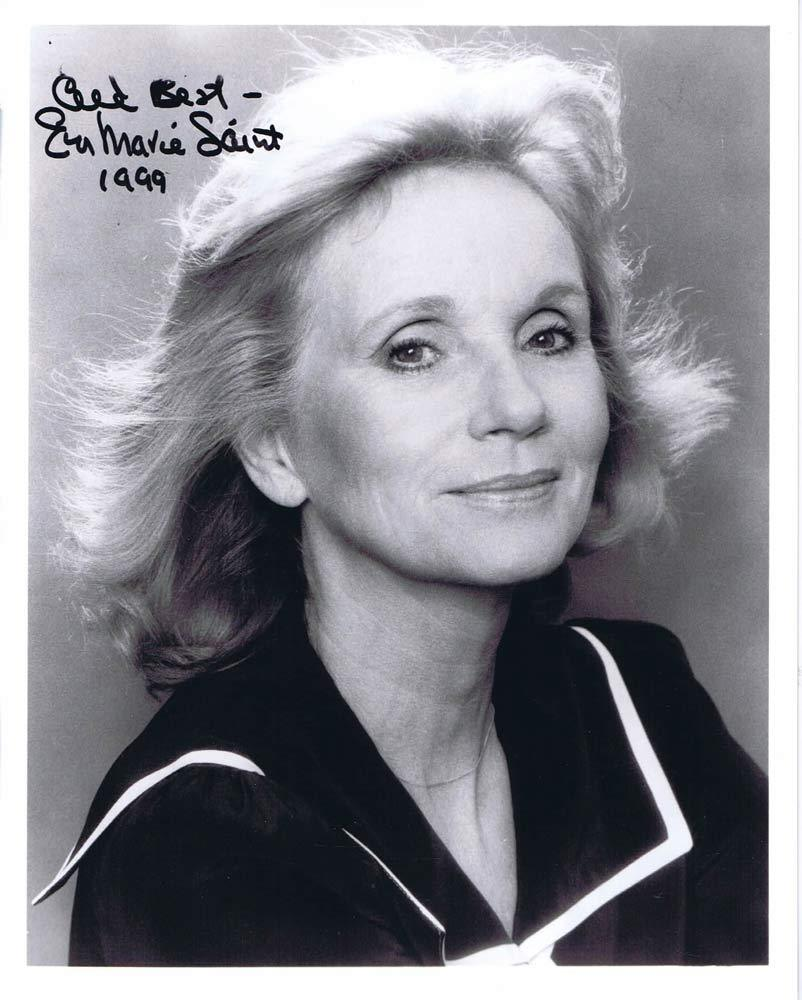 "EVA MARIE SAINT Autograph 8"" x 10"" photo Star of North by Northwest"