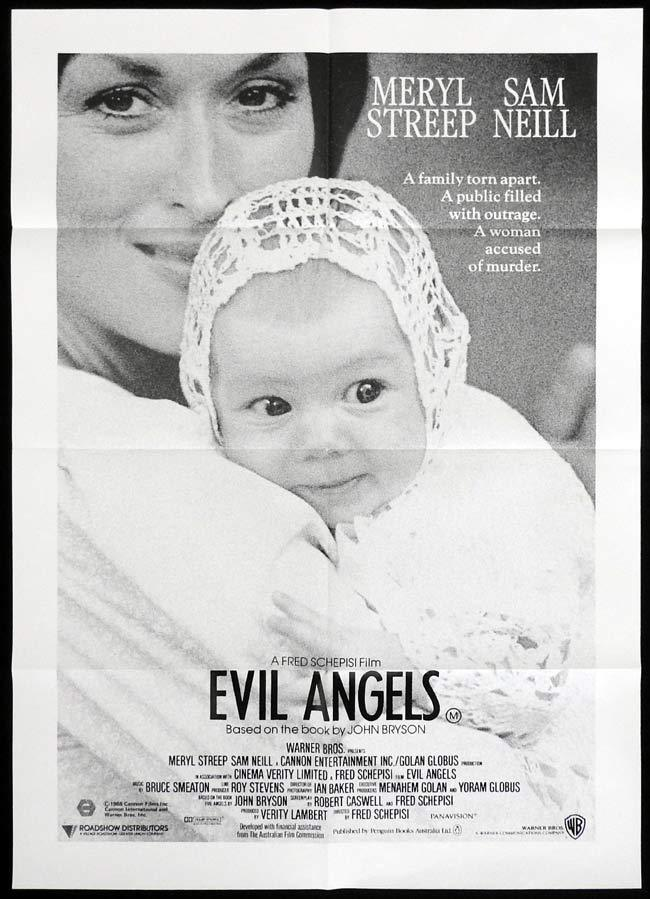 EVIL ANGELS One sheet Movie poster Meryl Streep as Lindy Chamberlain
