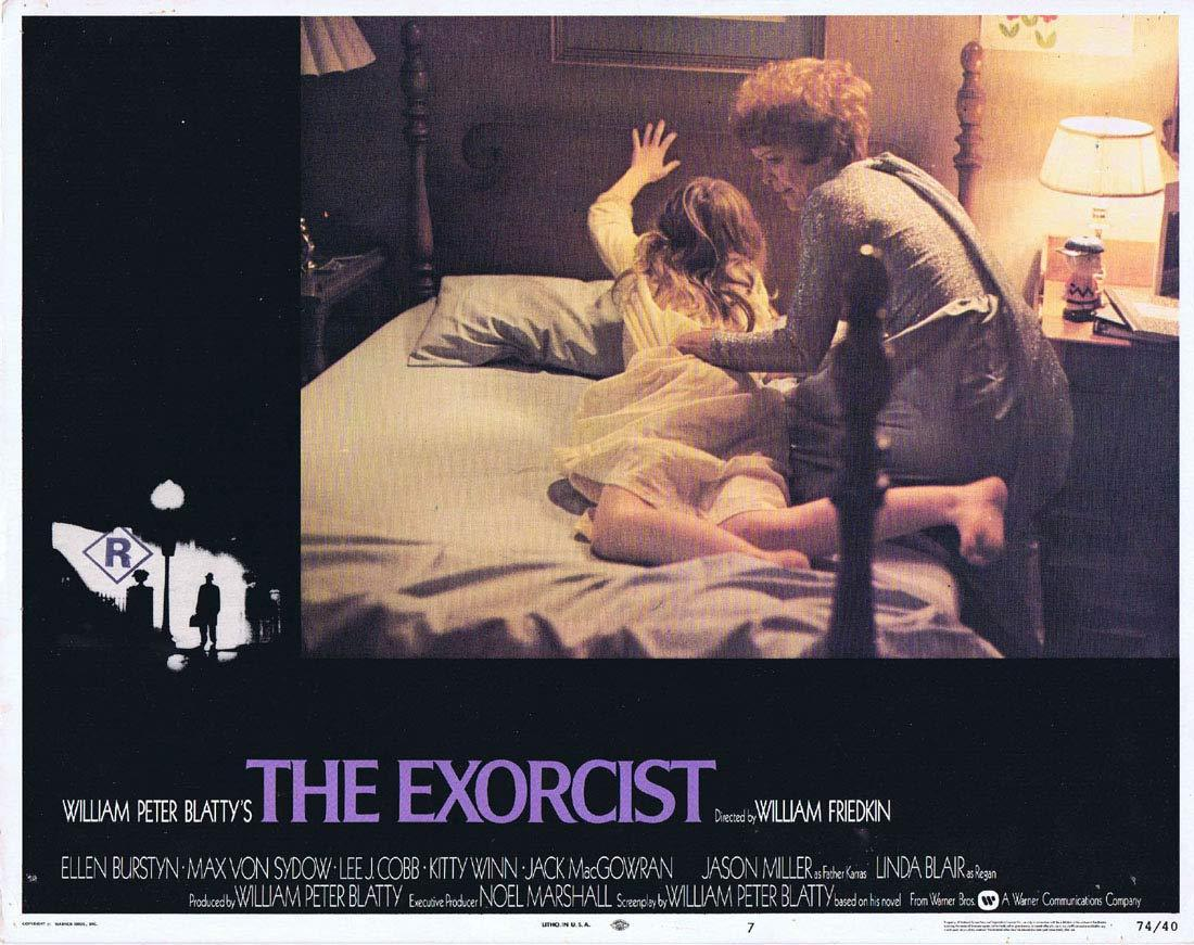THE EXORCIST Original Lobby Card 7 Linda Blair Horror