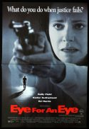 EYE FOR AN EYE Daybill Movie poster Sally Field Keifer Sutherland Ed Harris