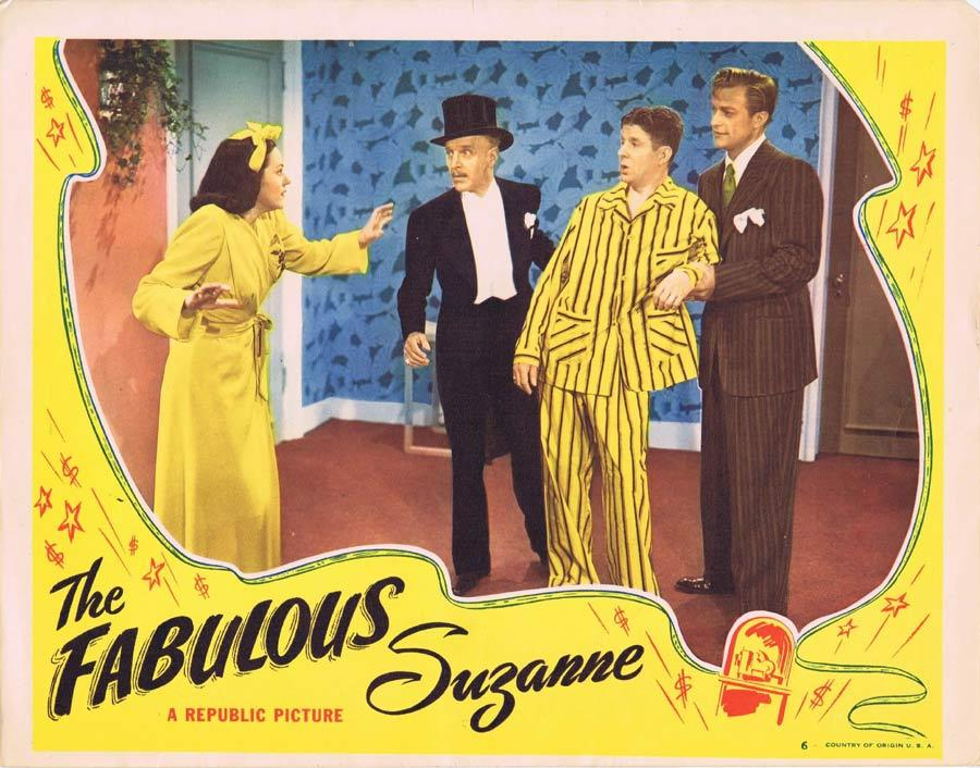 THE FABULOUS SUZANNE Lobby Card 6 Barbara Britton Otto Kruger