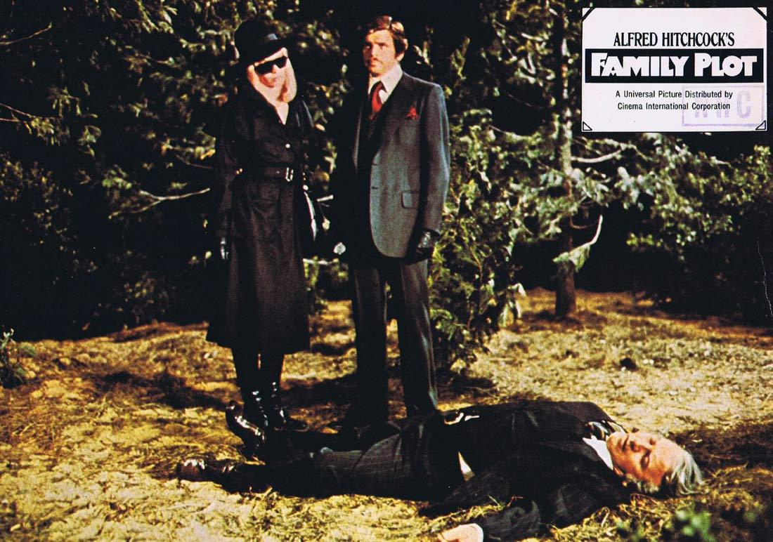 FAMILY PLOT German Lobby Card 9 Alfred Hitchcock William Devane