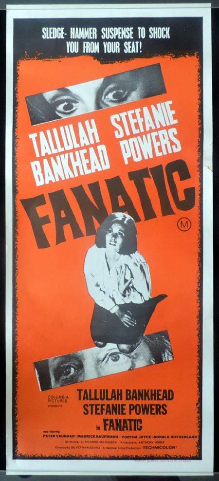 FANATIC Daybill Movie Poster Hammer Die! Die! My Darling!