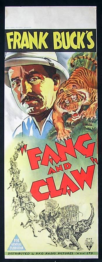 Fang and Claw, Frank Buck, Tiger, Documentary