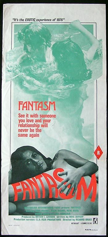 FANTASM Movie poster 1976 Ozploitation RARE Daybill