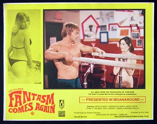 FANTASM COMES AGAIN Lobby Card #2 1977 Sexploitation