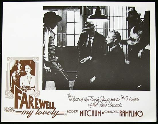 FAREWELL MY LOVELY Lobby Card 4 Robert Mitchum Film Noir