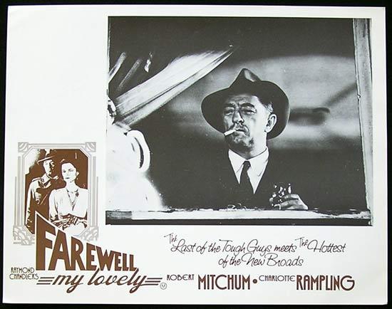FAREWELL MY LOVELY Lobby Card 6 Robert Mitchum Film Noir