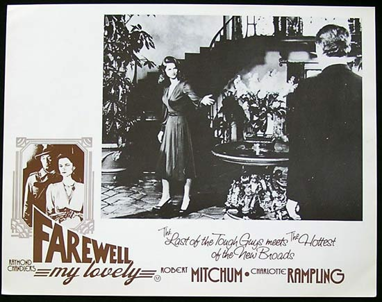 FAREWELL MY LOVELY Lobby Card 7 Robert Mitchum Film Noir