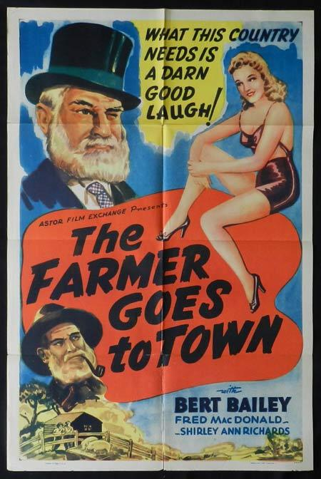 DAD AND DAVE COME TO TOWN 1938 US One sheet Movie poster