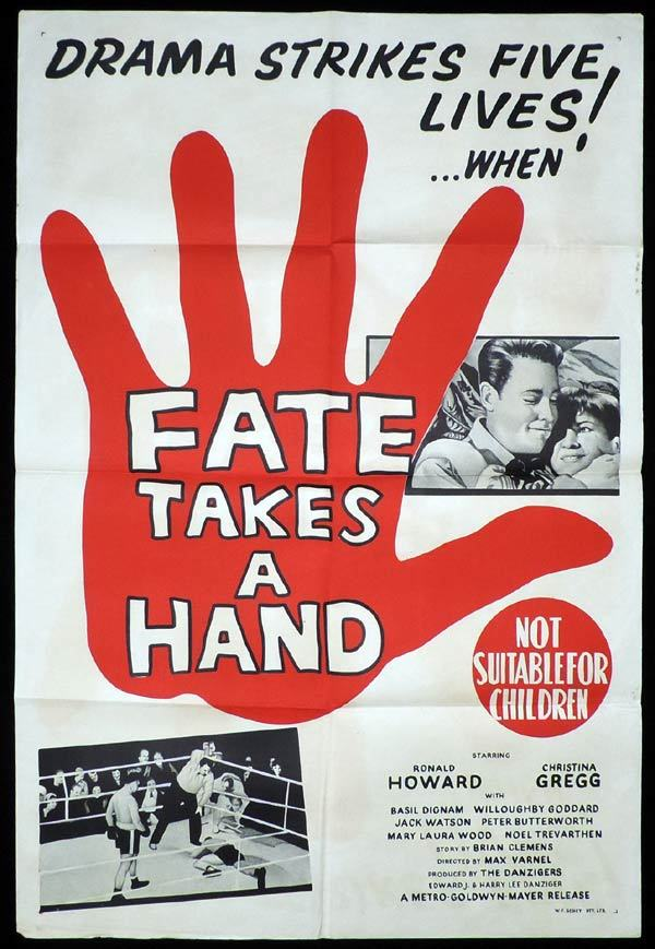FATE TAKES A HAND One Sheet Movie Brian Clemens Boxing