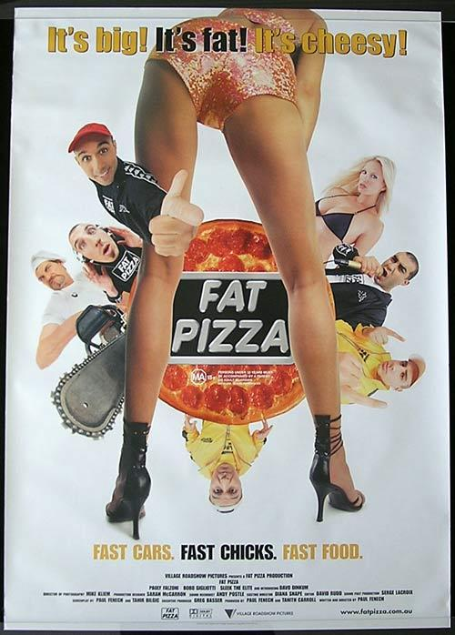 FAT PIZZA Movie poster 2003 Paul Fenech Australian Cinema One sheet