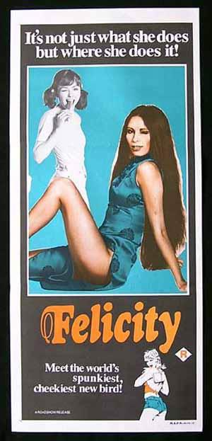 FELICITY Daybill Movie poster 1979 John Lamond Glory Annen
