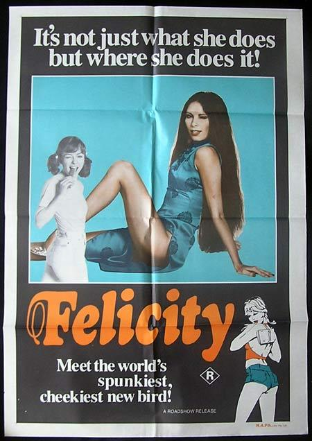FELICITY One Sheet Movie poster 1979 John Lamond Glory Annen