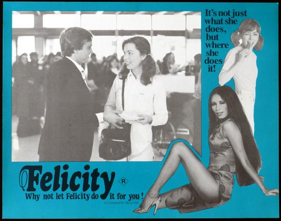 FELICITY 1979 John Lamond Glory Annen Lobby Card 8
