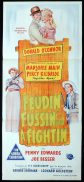 FEUDIN FUSSIN AND A FIGHTIN Original Daybill Movie Poster Marjorie Main Donald O'Connor