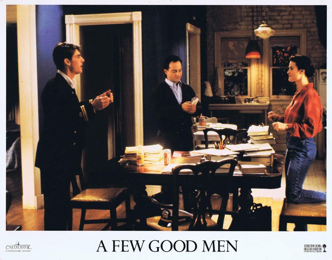 A FEW GOOD MEN Original Lobby Card 2 Jack Nicholson Tom Cruise Demi Moore
