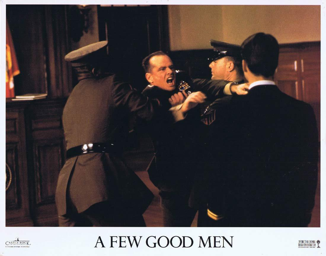 A FEW GOOD MEN Original Lobby Card 3 Jack Nicholson Tom Cruise Demi Moore