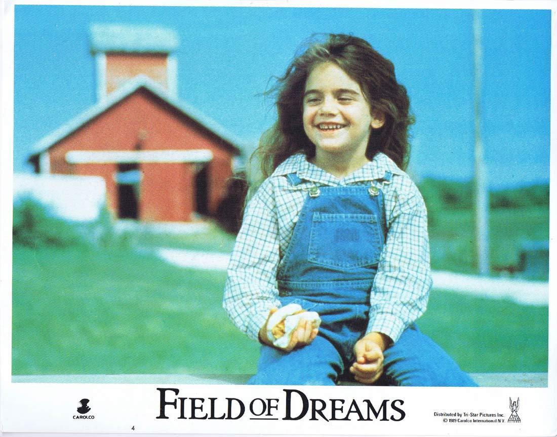 FIELD OF DREAMS Original Lobby Card 4 Kevin Costner Amy Madigan