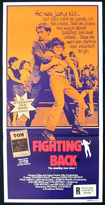FIGHTING BACK Original Daybill Movie poster Lewis Fitz-Gerald