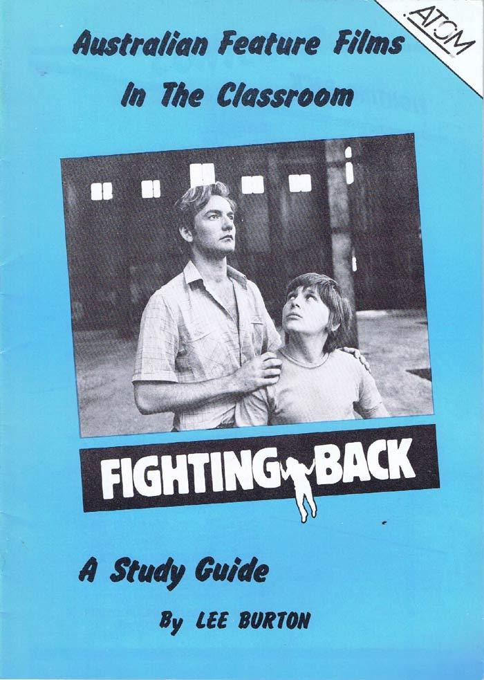 FIGHTING BACK Original Australian Movie Study Guide Lewis Fitzgerald