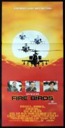 FIRE BIRDS Daybill Movie poster Nicolas Cage Tommy Lee Jones