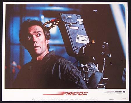 FIREFOX '82-Clint Eastwood ORIGINAL US Lobby card #1