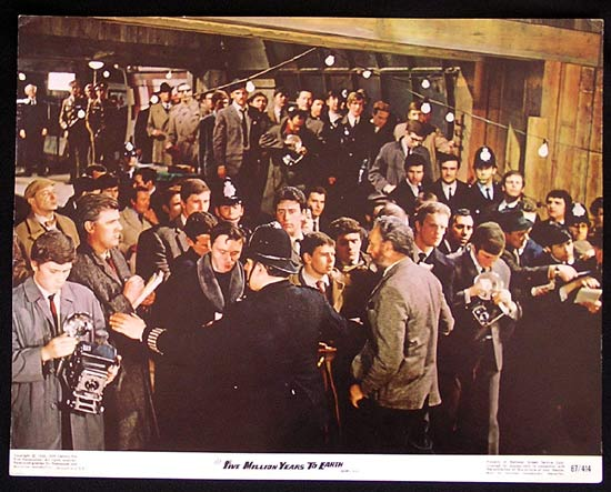 FIVE MILLION YEARS TO EARTH 1967 Hammer Lobby card 2 Quatermass and the Pit