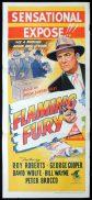 FLAMING FURY Original Daybill Movie Poster George Cooper Film Noir