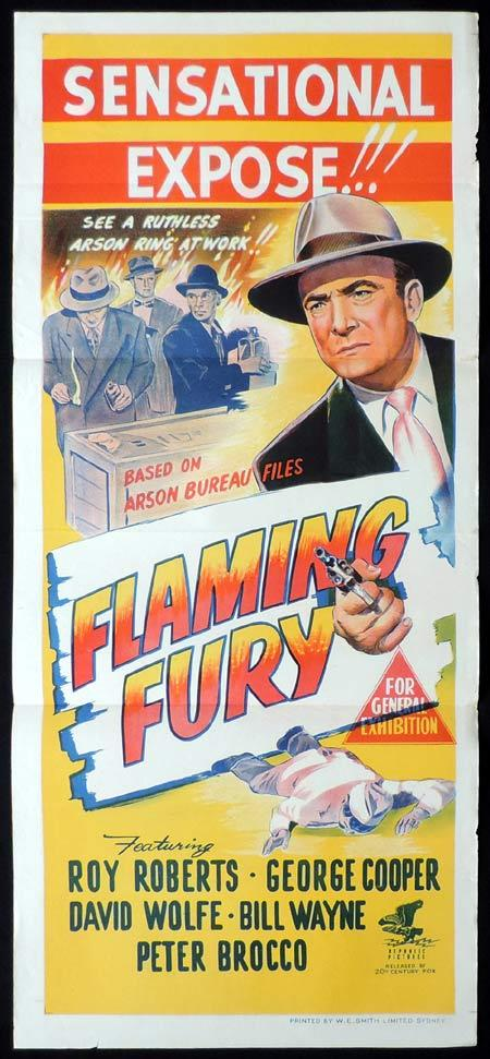 Flaming Fury, George Blair, George Cooper, Roy Roberts, Billy Wayne, Peter Brocco