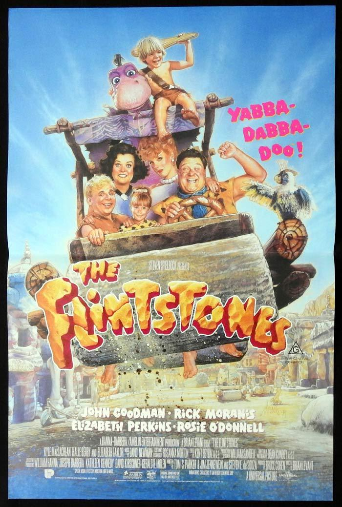 THE FLINTSTONES Original Daybill Movie poster John Goodman Rick Moranis