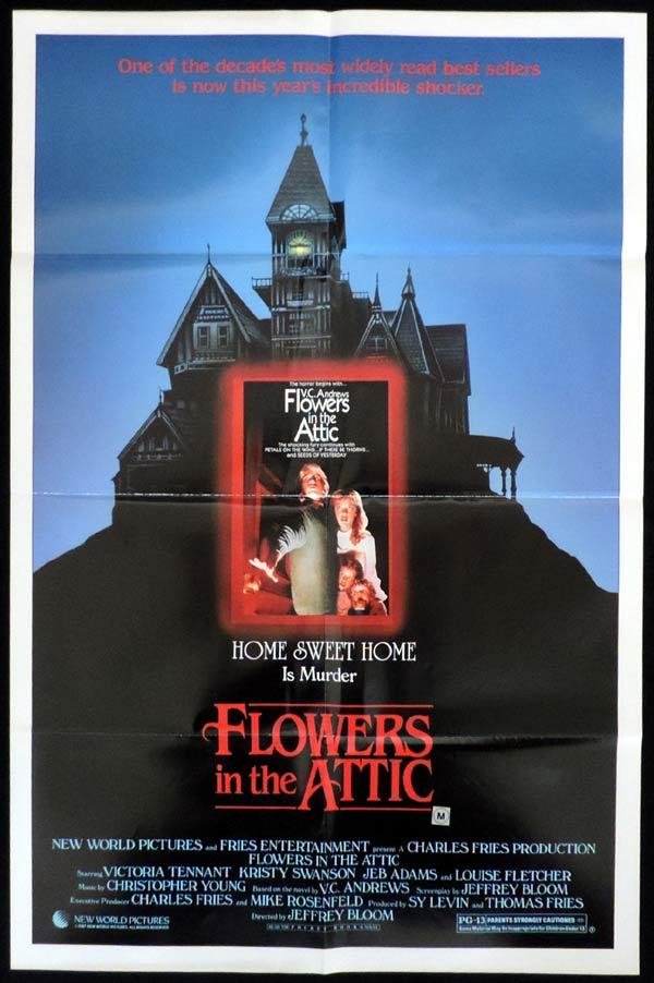 FLOWERS IN THE ATTIC One Sheet Movie Poster V. C. Andrews.