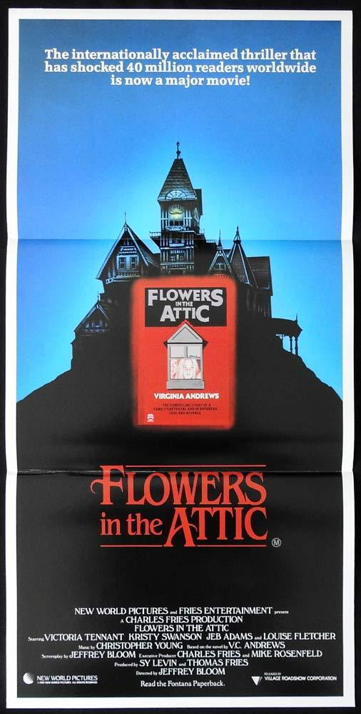 FLOWERS IN THE ATTIC Original Daybill Movie poster V.C.ANDREWS Victoria Tennant