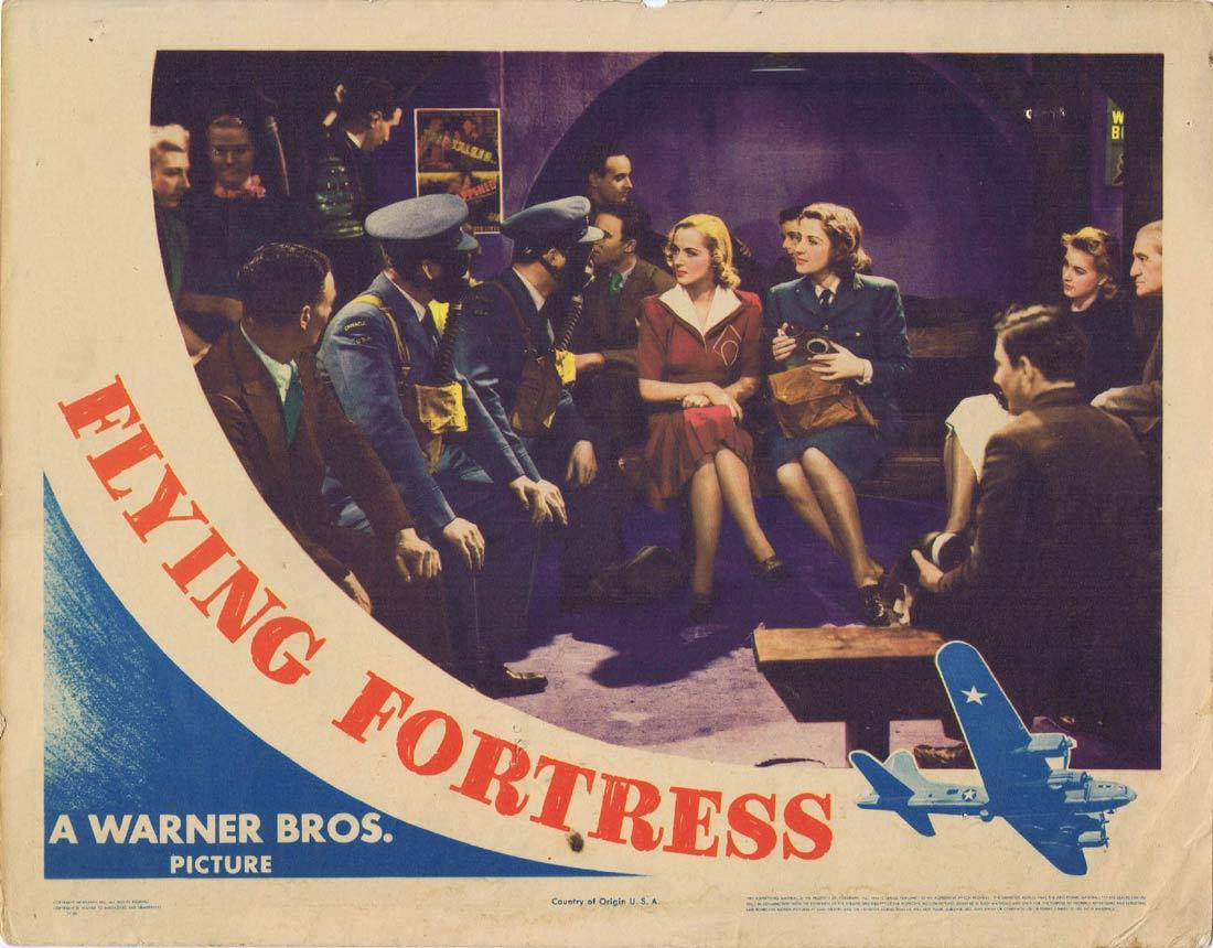FLYING FORTRESS Lobby Card 2 Richard Greene Carla Lehmann Betty Stockfeld