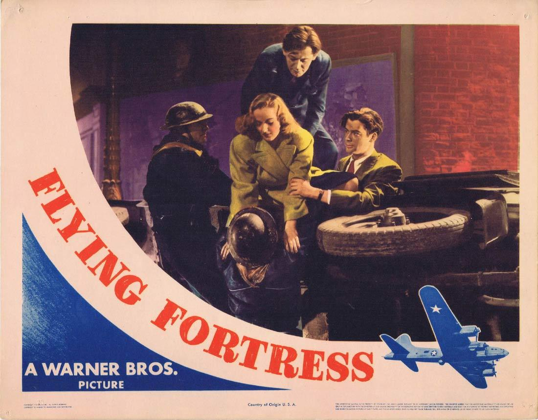 FLYING FORTRESS Lobby Card 5 Richard Greene Carla Lehmann Betty Stockfeld