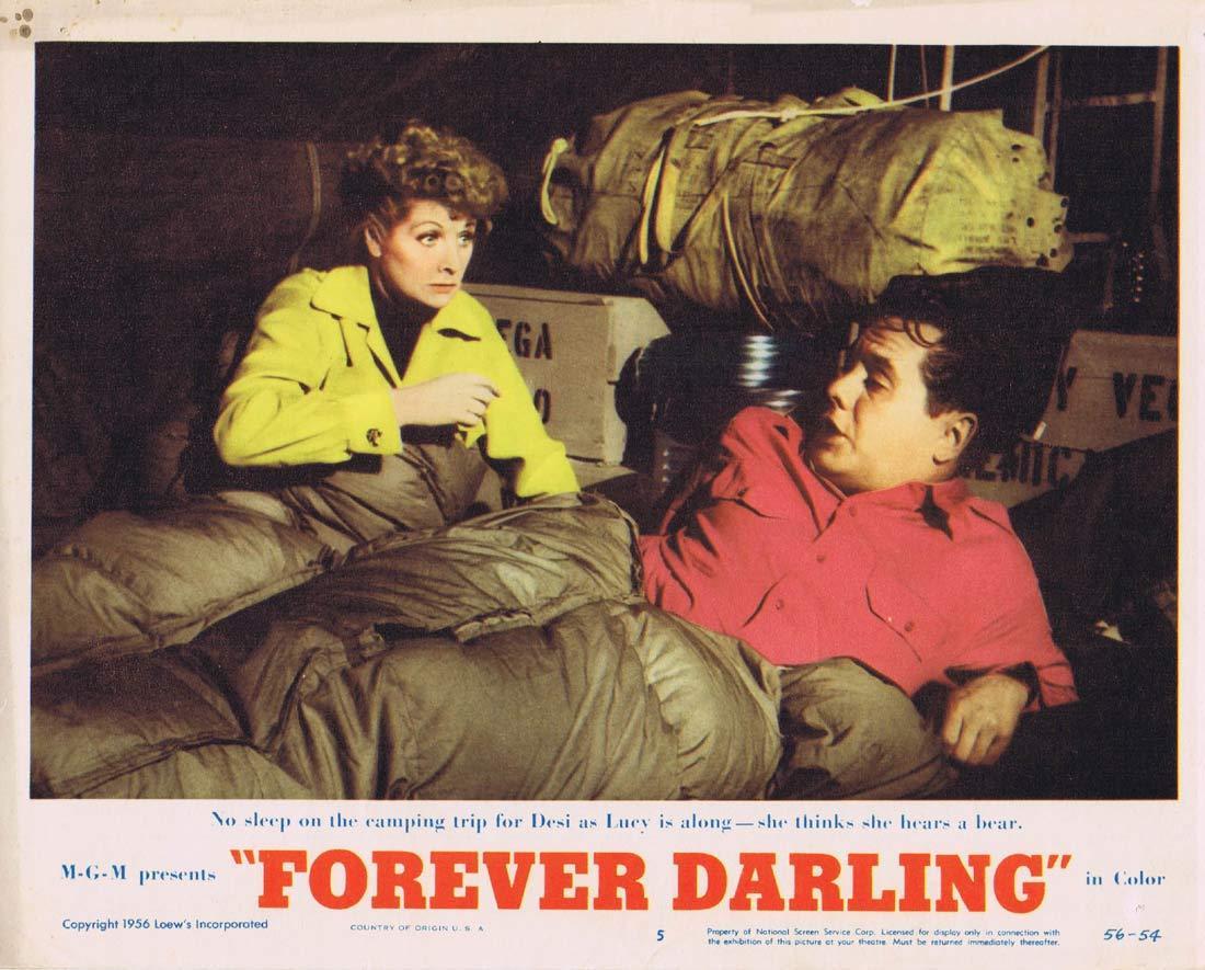 FOREVER DARLING Lobby Card 5 Lucille Ball Desi Arnaz James Mason