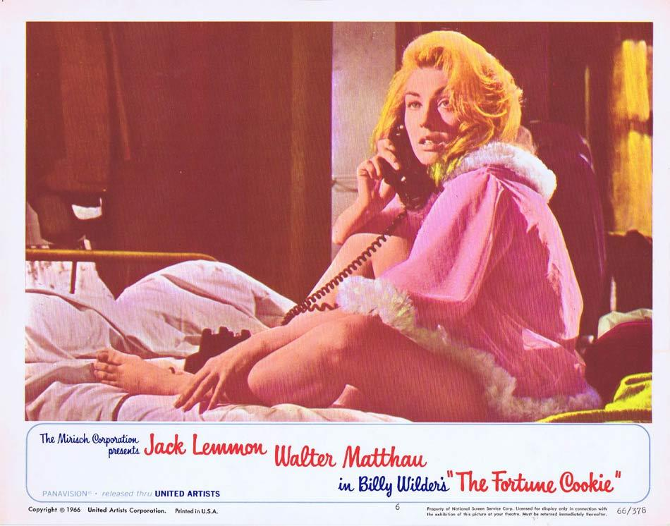 THE FORTUNE COOKIE Lobby Card 6 Billy Wilder Judi West