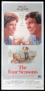 THE FOUR SEASONS Original Daybill Movie Poster Alan Alda