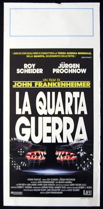 THE FOURTH WAR  Italian Locandina Movie Poster Roy Scheider
