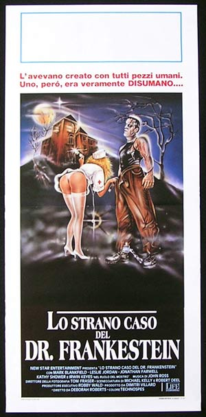FRANKENSTEIN GENERAL HOSPITAL Original Locandina Movie Poster Sexploitation Art