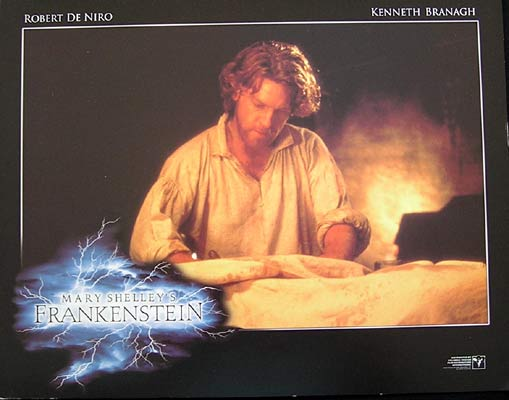 MARY SHELLEY'S FRANKENSTEIN Kenneth Brannagh Lobby card