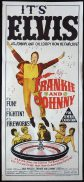 FRANKIE AND JOHNNY Original Daybill Movie poster
