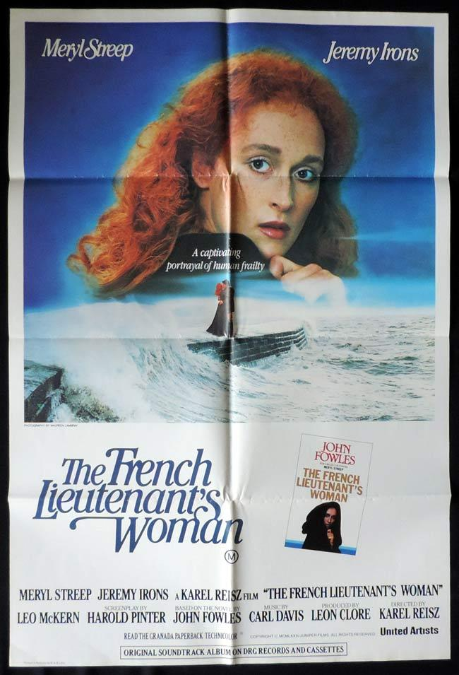 THE FRENCH LIEUTENANT'S WOMAN One Sheet Movie Poster Meryl Streep