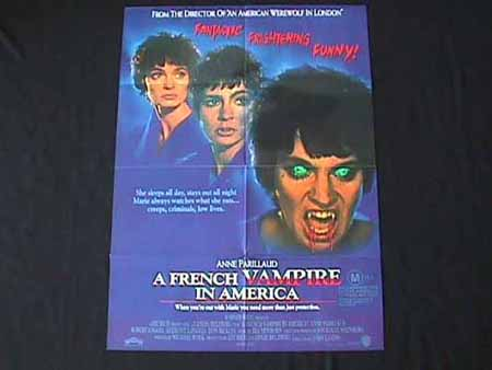 INNOCENT BLOOD '92 French Vampire LANDIS One sht