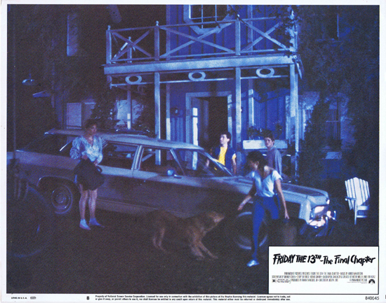 FRIDAY THE 13TH THE FINAL CHAPTER Lobby Card 8