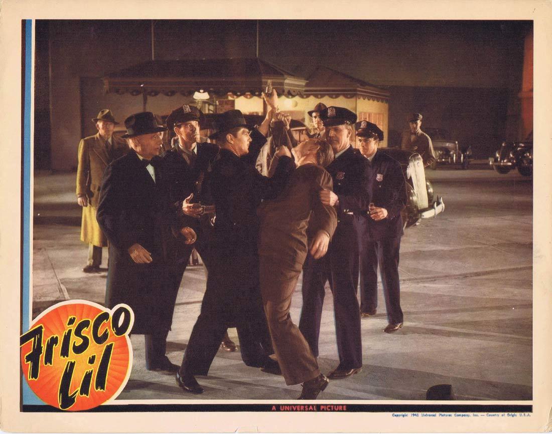 FRISCO LIL Vintage Lobby Card Kent Taylor Minor Watson Gambling