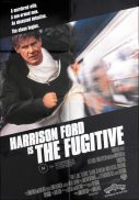 THE FUGITIVE One sheet Movie Poster Harrison Ford Tommy Lee Jones