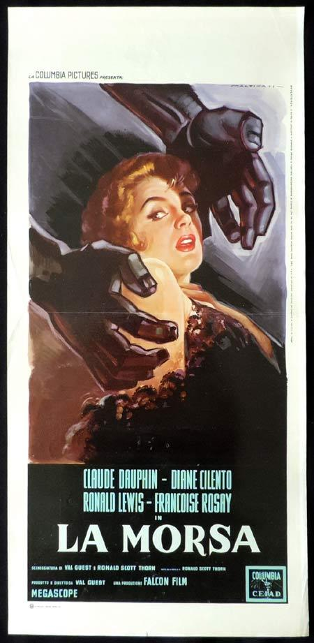 THE FULL TREATMENT aka Stop Me Before I Kill Original Locandina Movie Poster LUIGI MARTINATI art