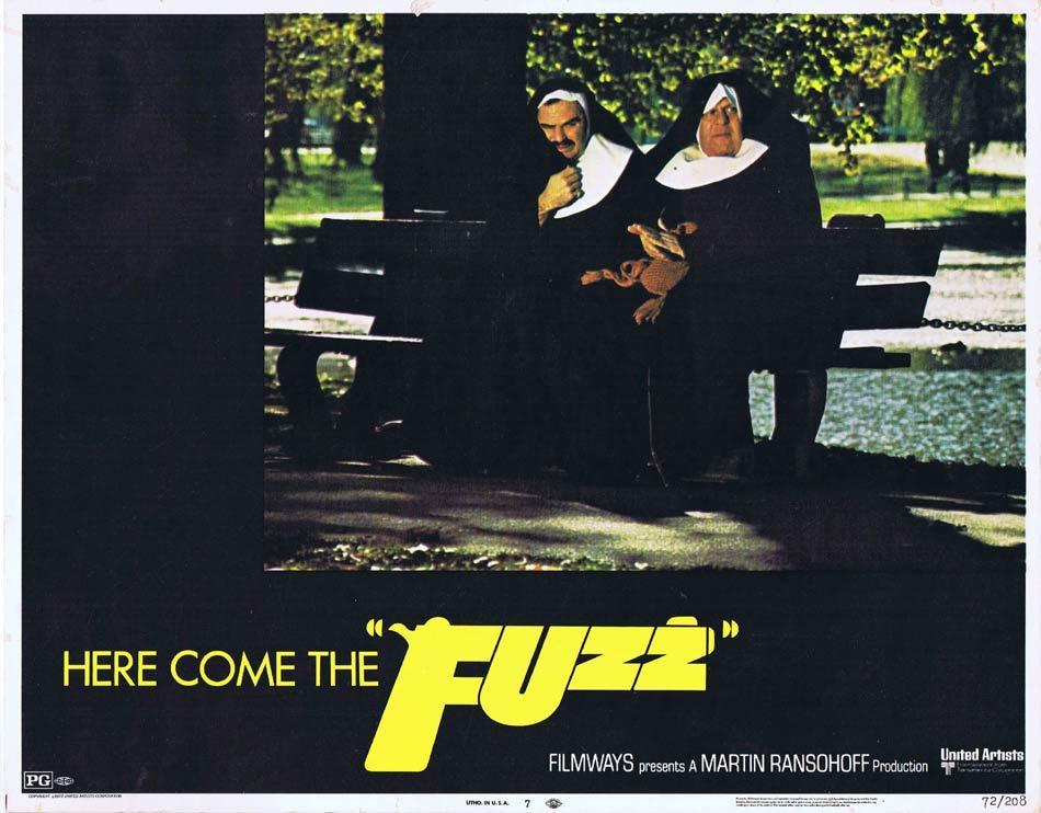 FUZZ Lobby Card 7 Burt Reynolds Yul Brynner Raquel Welch Tom Skeritt