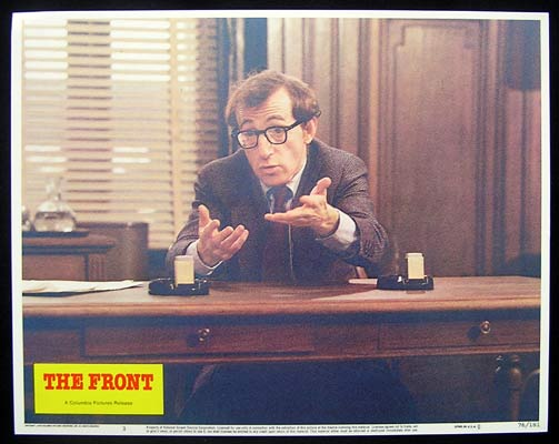 THE FRONT Lobby card 3 Woody Allen